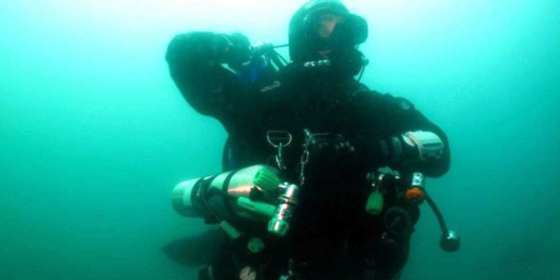 Tecdiving is also fun for PADI CD Ulf Mayer