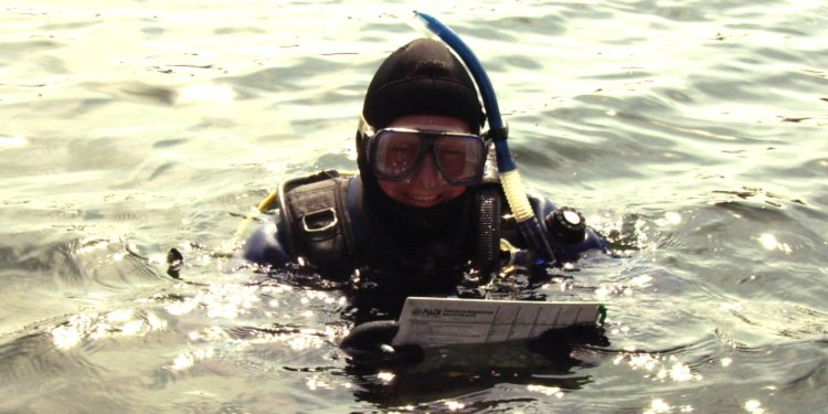PADI CD Ulf Mayer at work